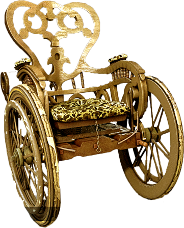 Golden Wheelchair